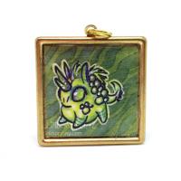 Pudgy kirin pendant